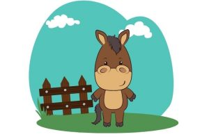 dibujar caballos kawaii paso a paso
